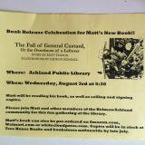 Book Release Celebration for Matt's New Book