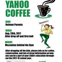 Yahoo coffee!
